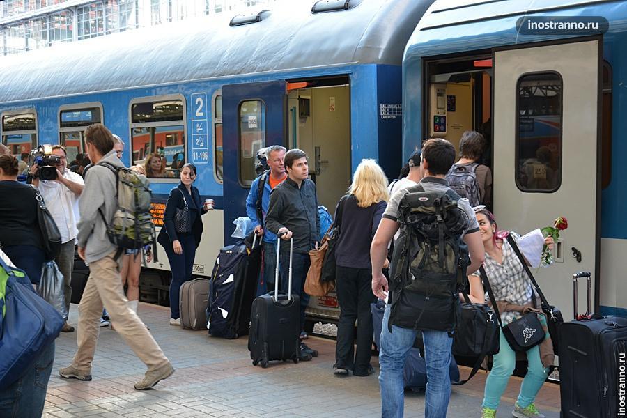 Венгерские поезд