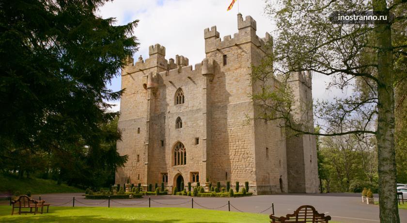 Гостиница в Англии Langley Castle Hotel