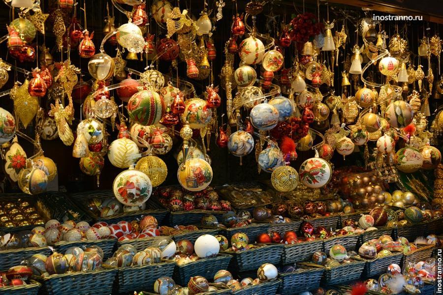 Рождественские шары в Вене