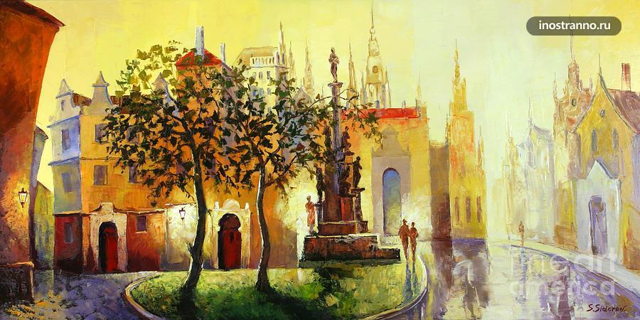 Картина Золотая Прага