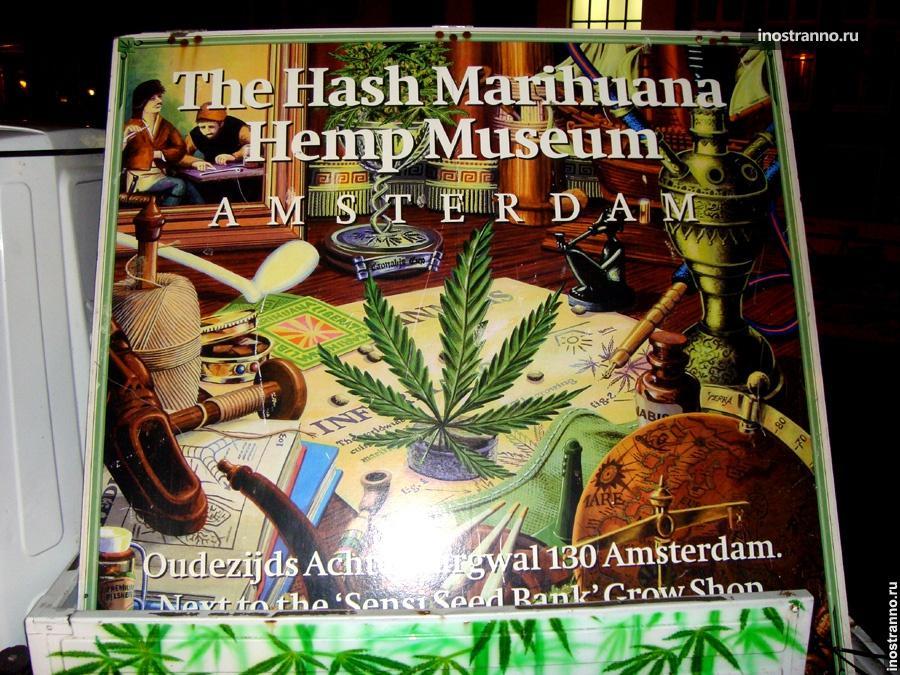 Музей Марихуаны Амстердам