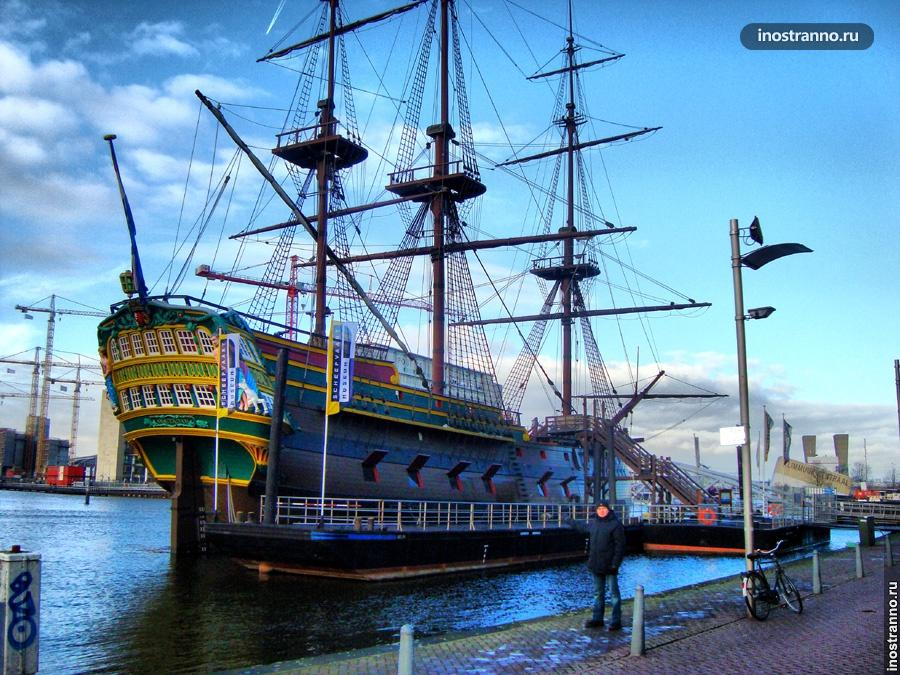 Национальный музей судоходства в Амстердаме