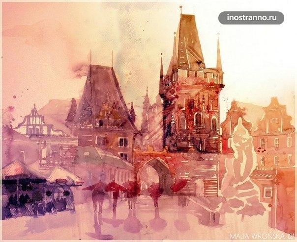 Картина Прага, Карлов Мост