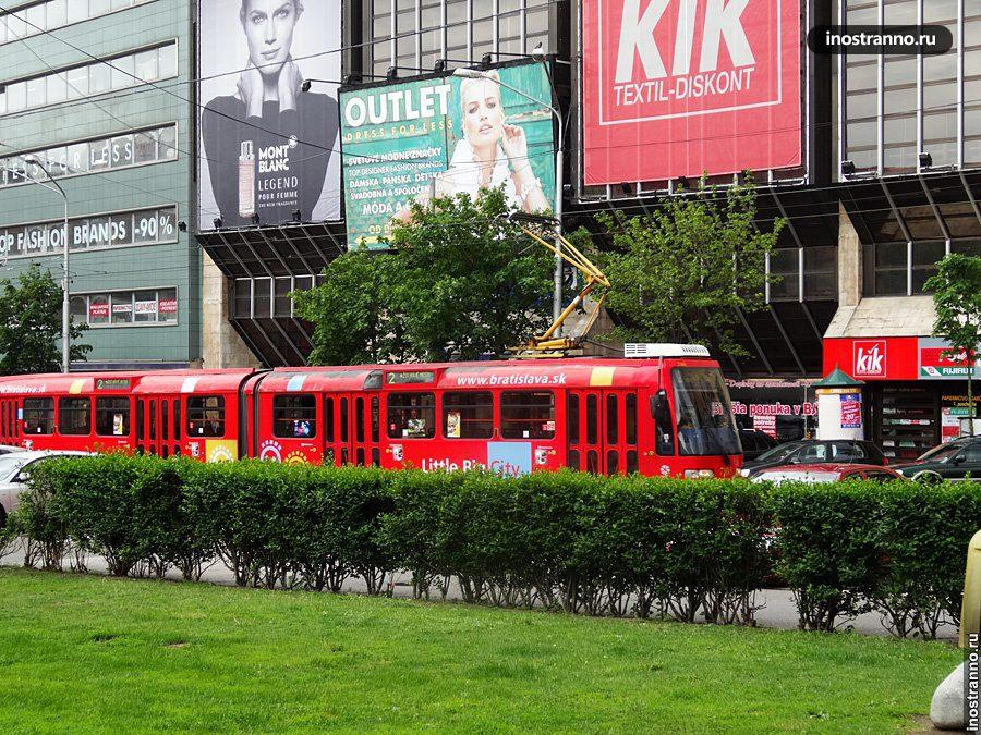 Трамвай в Братиславе