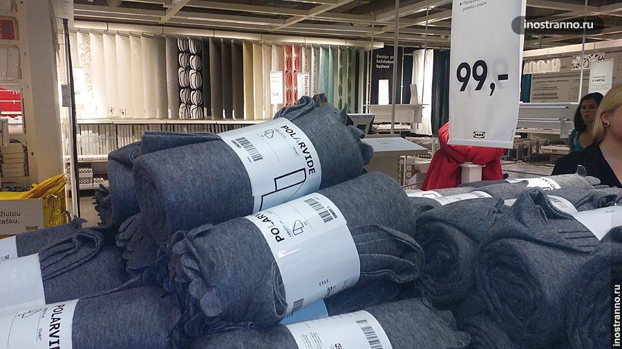 Одеяло в Икее