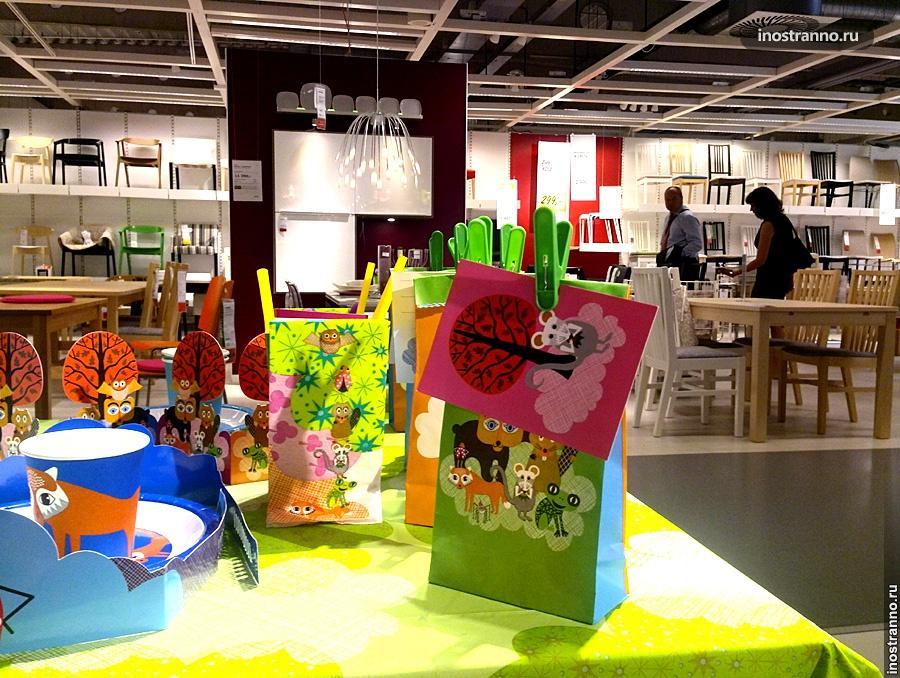 Магазин Икеа в Праге
