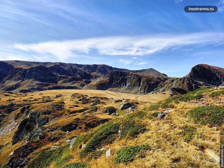Пейзаж Рильских гор