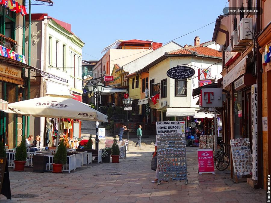Район Старого базара в Скопье
