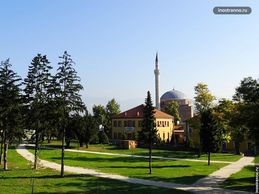 Мечеть в Скопье