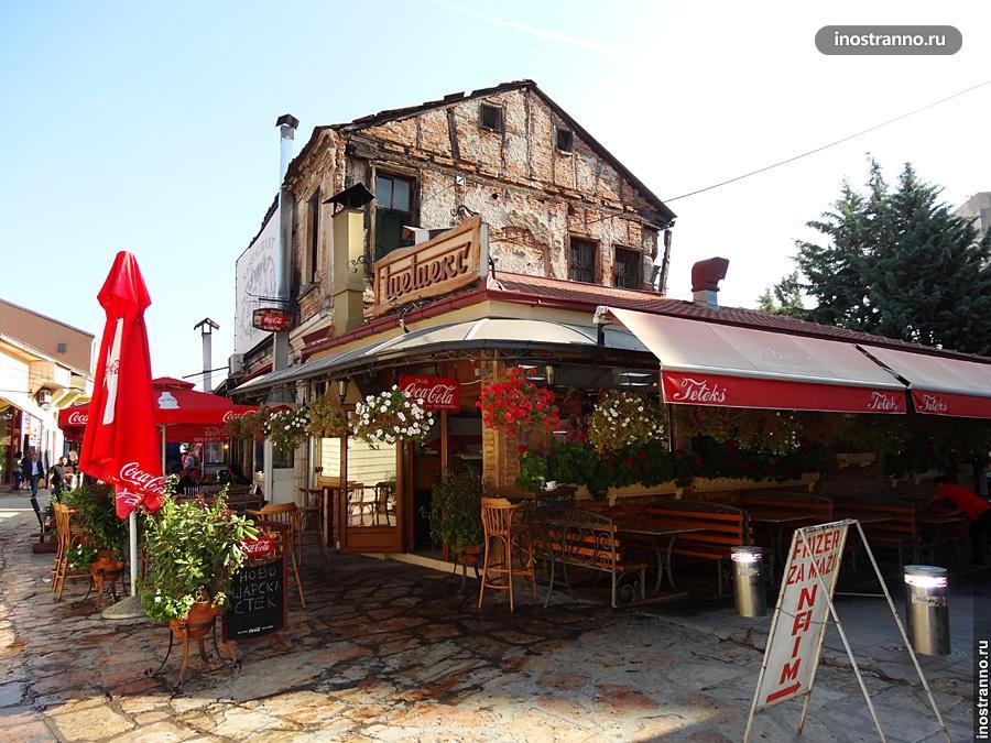 Улицы Скопье
