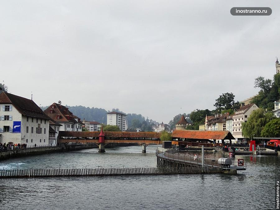 Шпрейербрюке мост, Люцерн