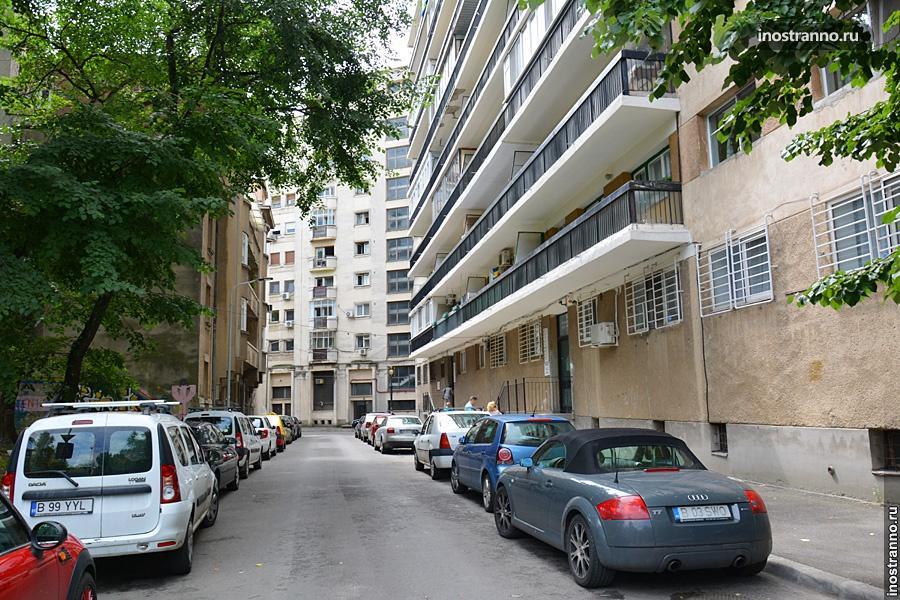 Дворы домов в Бухаресте