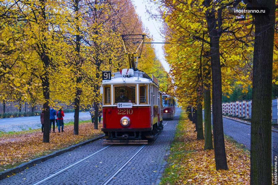 Музей общественного транспорт в Праге