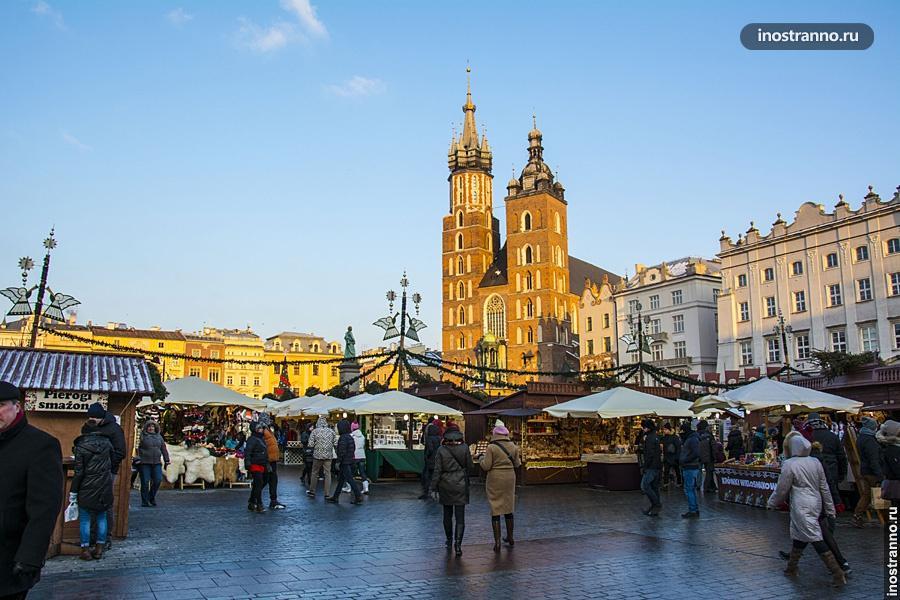 Рождестевнский рынок в Кракове