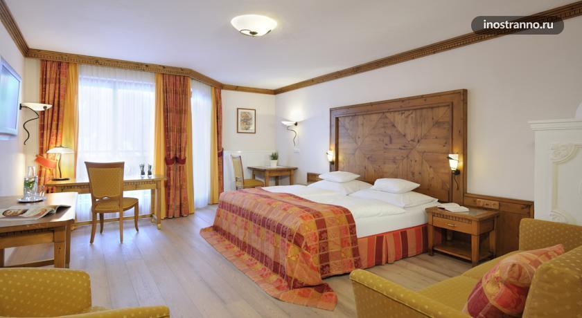 Отель в горах Санкт-Йохан Hotel Oberforsthof