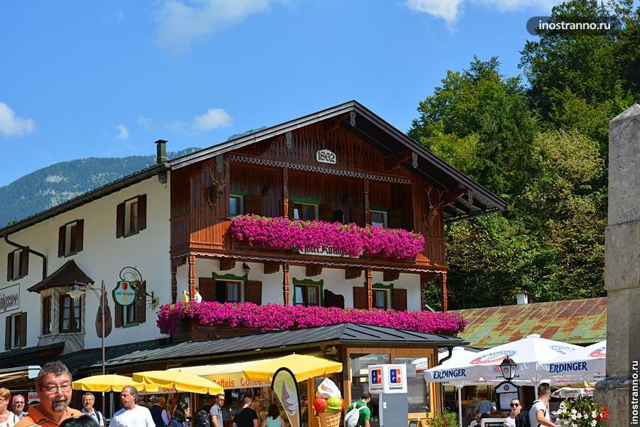 Кёнигзее баварский домик