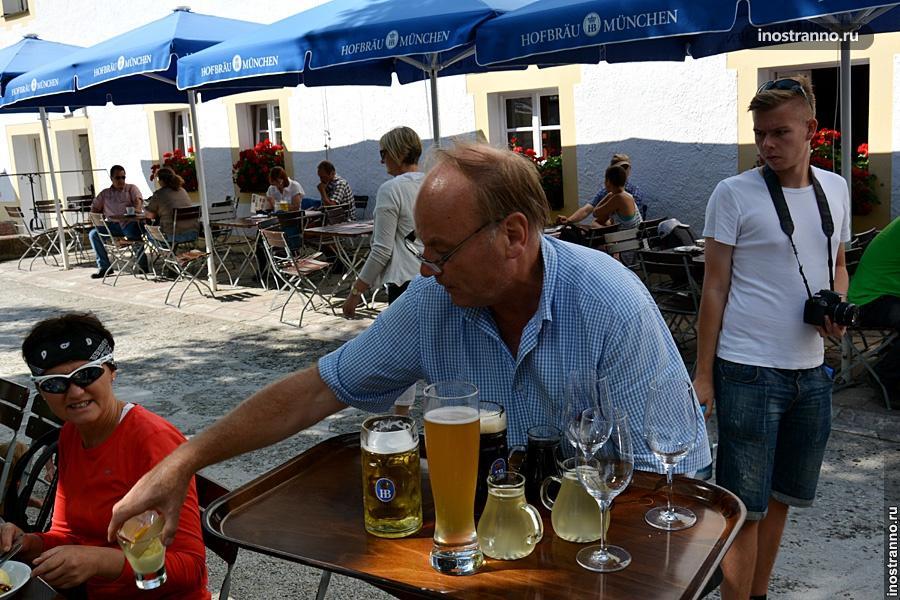 Кёнигзее ресторан с пивом