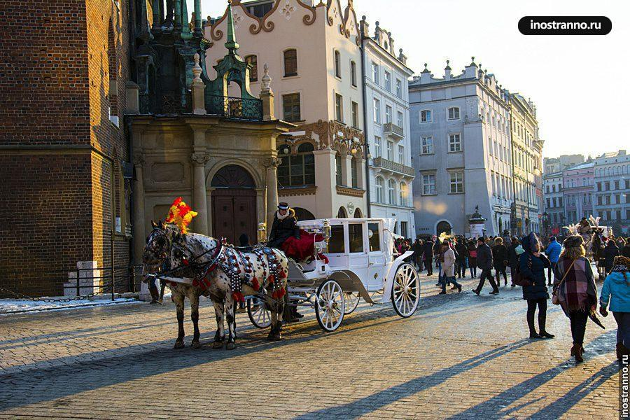 Рыночная площадь в Кракове