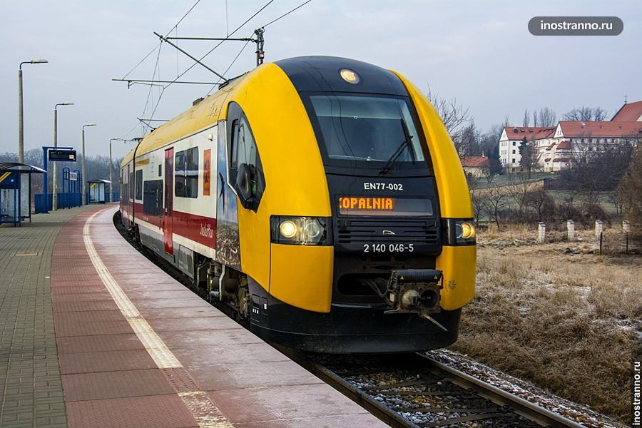 Поезд в Величку