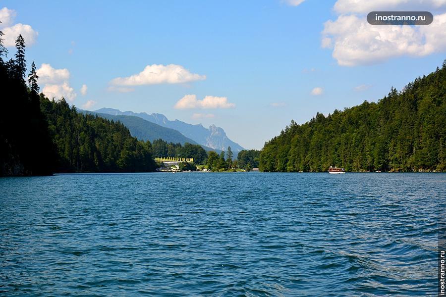 Поездка на озеро Кёнигсзее