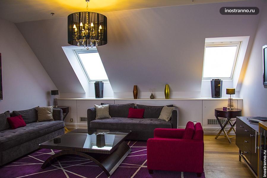 Проживание в пятизвездочном отеле в Праге