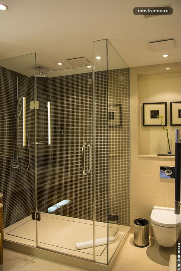Ванная комната в пятизвездочном отеле