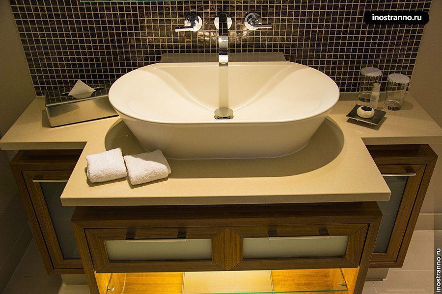 Ванная в престижном отеле в Праге