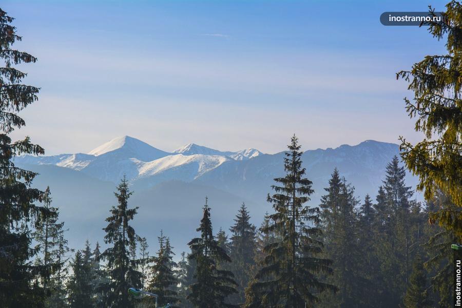 Польские горы Татры
