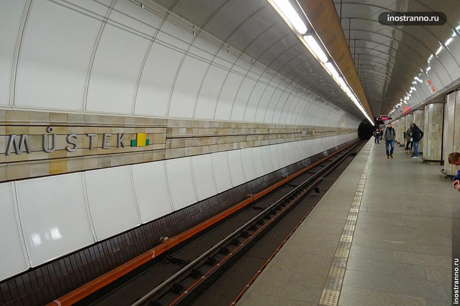 Рекорды метро Праги