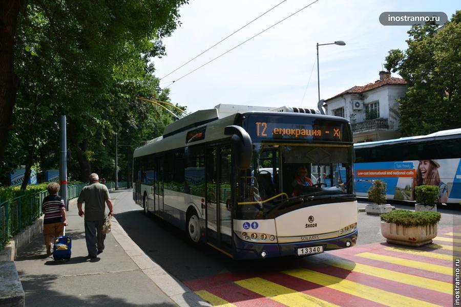Варна троллейбус