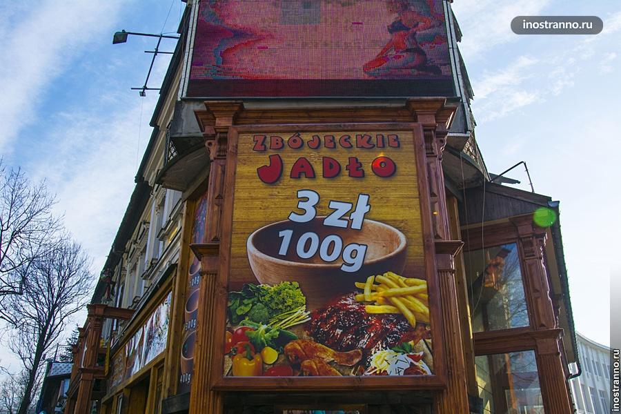 Где поесть в Закопане