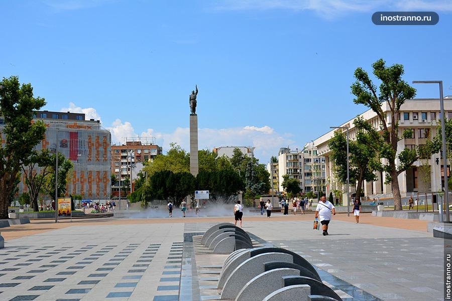 Улица Александровска в Бургасе