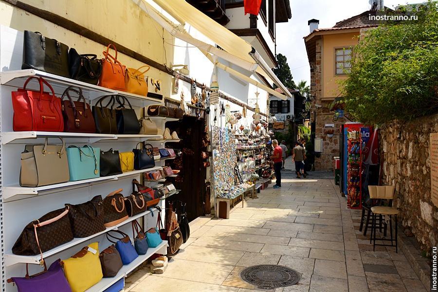 Анталия шоппинг