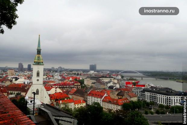 Вид на Братиславу