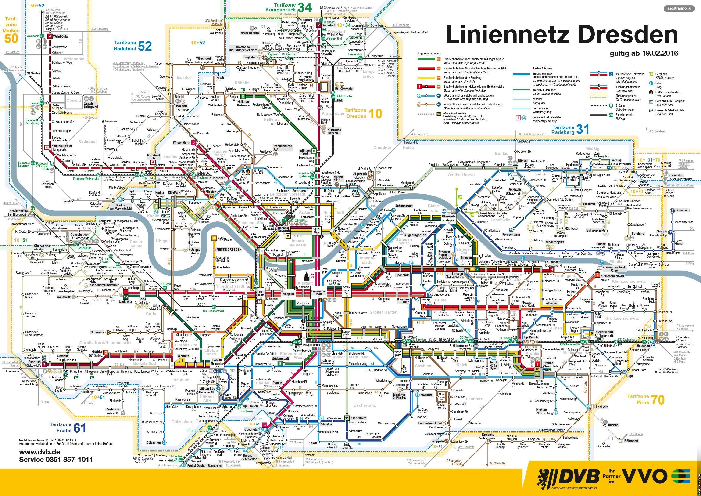 Дрезден схема трамваев