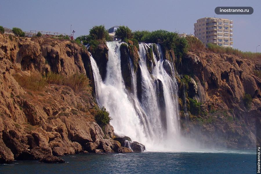 Дюденский водопад в Анталии