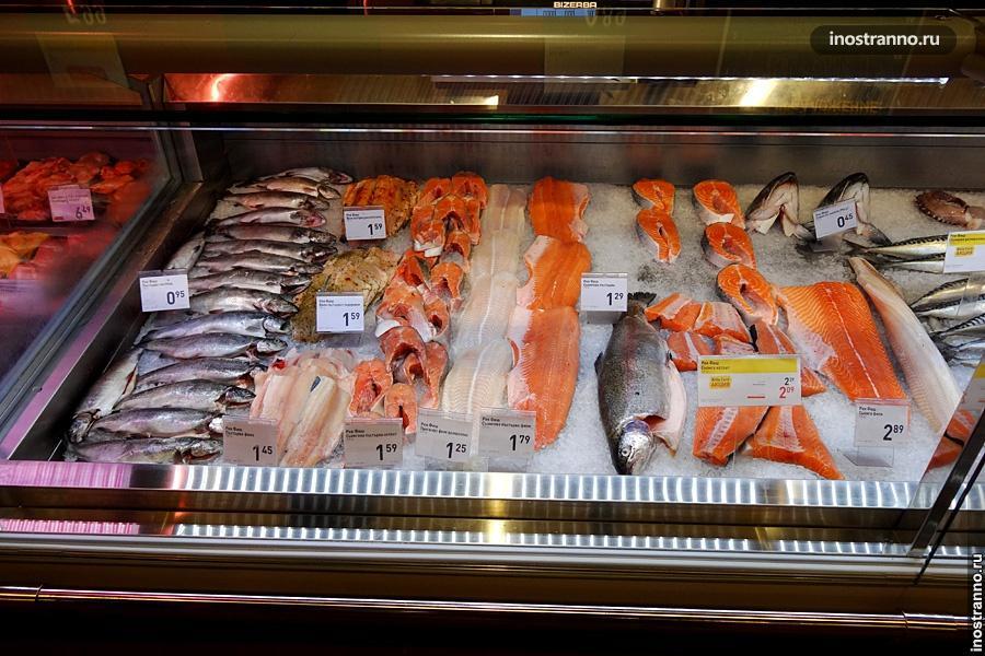 Рыба на рынке в Бургасе