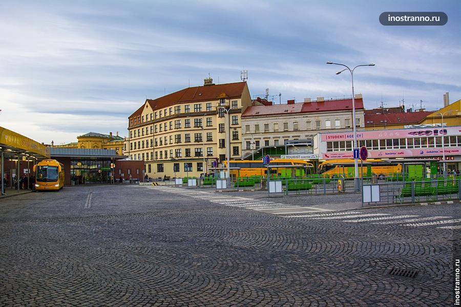 Автовокзал Флоренс в Праге