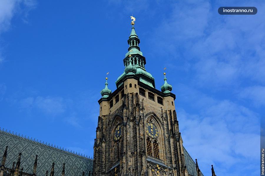 Большая южная башня собора св. Вита Прага