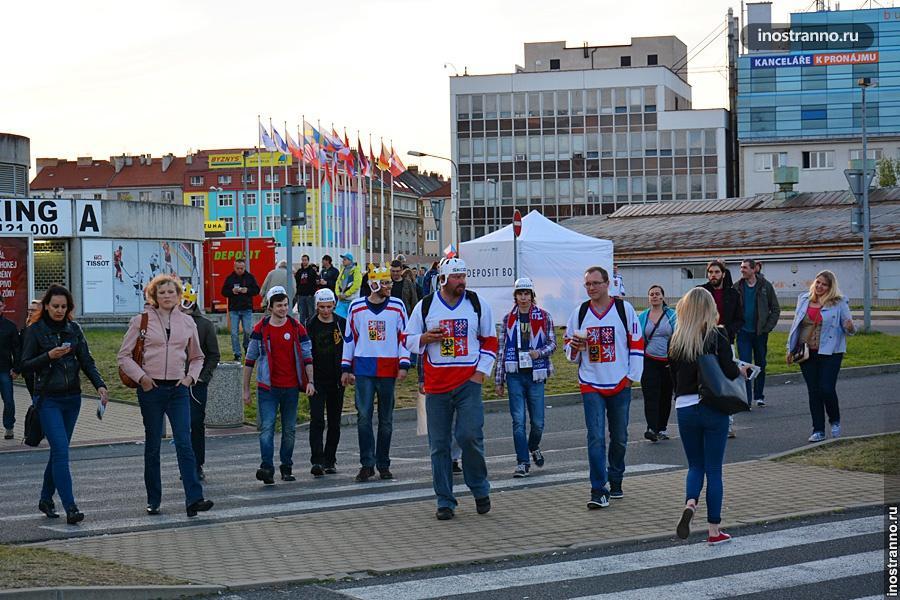 Демонстрации в Праге