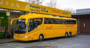 Главный автовокзал Флоренс в Праге