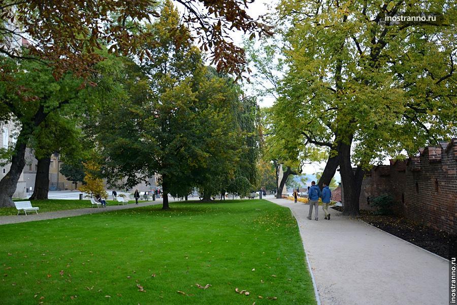 Сад на Валах Прага
