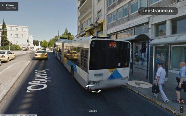 Автобус до аэропорта Афин