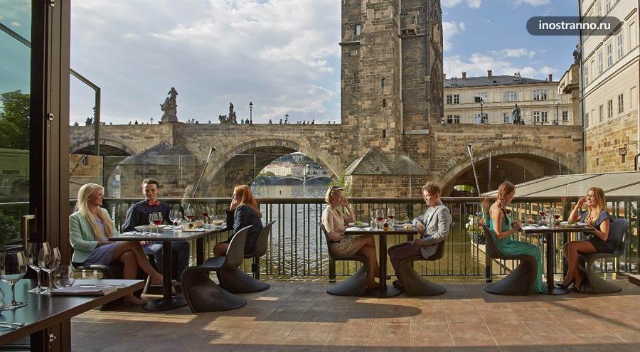 Mlynec ресторан в Праге
