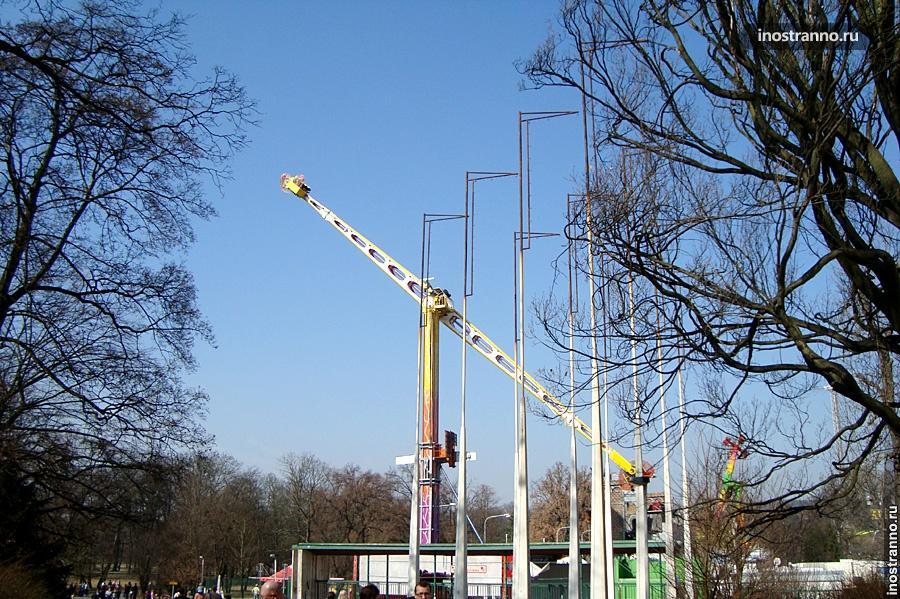 Парк аттракционов в Праге