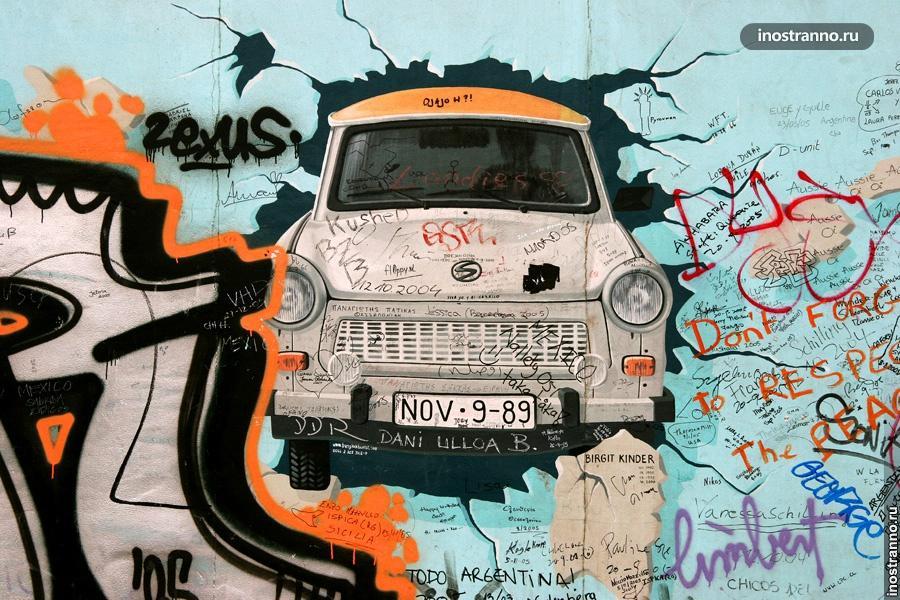 Берлинская стена граффити
