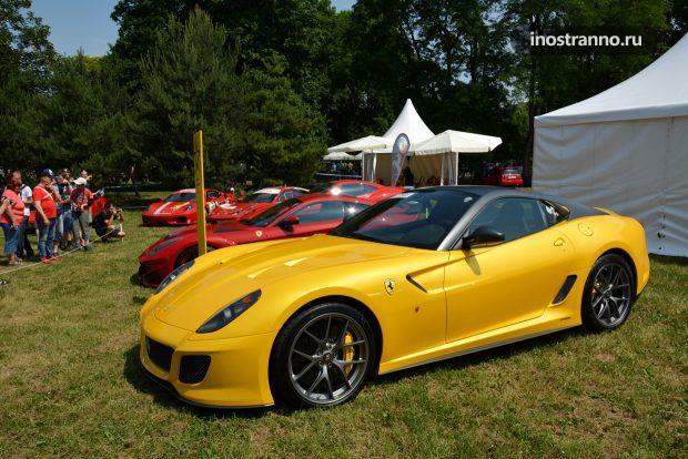 Ferrari Prague Auto Show