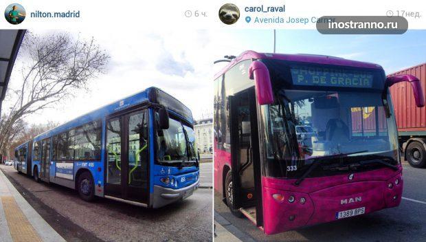 Общественный транспорт Мадрида