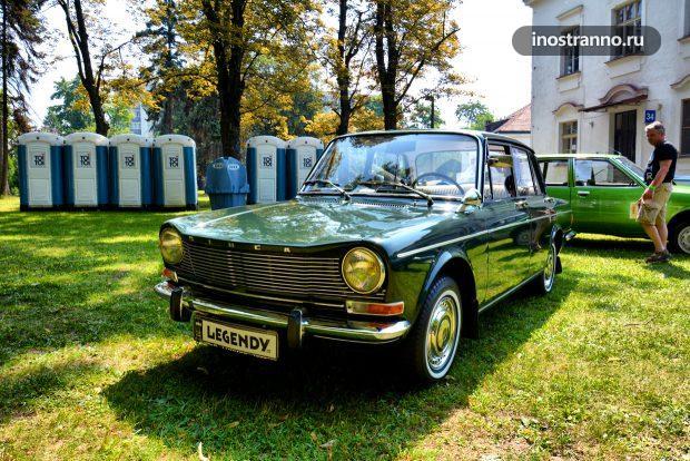 Simca 1301 французский ретро автомобиль