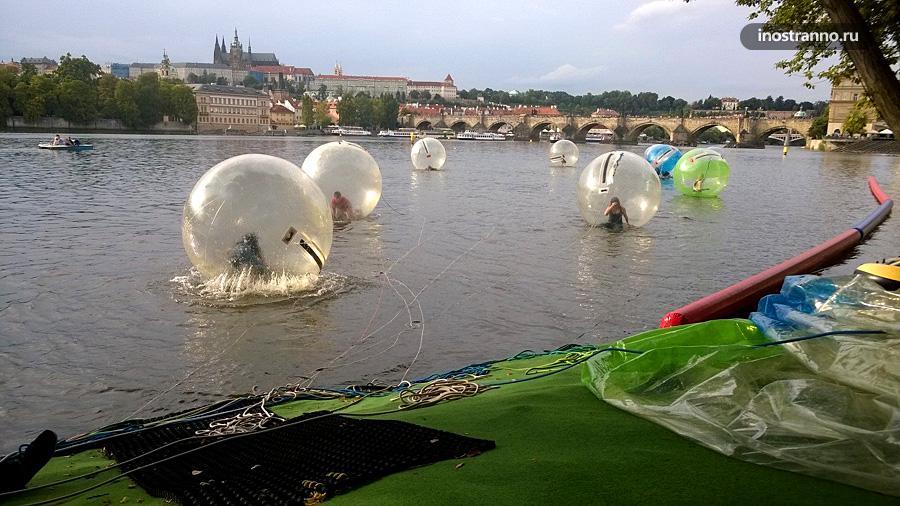Зорбинг Прага